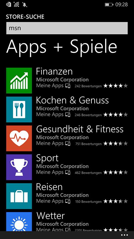 Einige MSN-Apps will Microsoft Ende September einstellen. (Bild: Microsoft)
