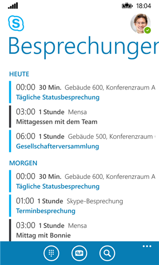 Skype for Business. (Bild: Microsoft)