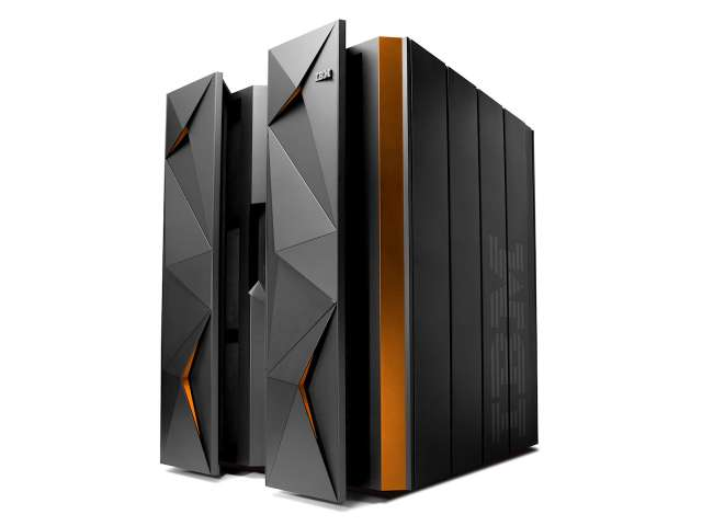 IBMs neuer Linux-Mainframe LinuxOne, Modell Emperor. (Bild: IBM)