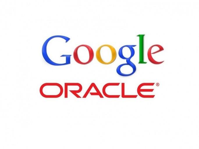 Logos von Google und Oracle (Bild:Google/Oracle)