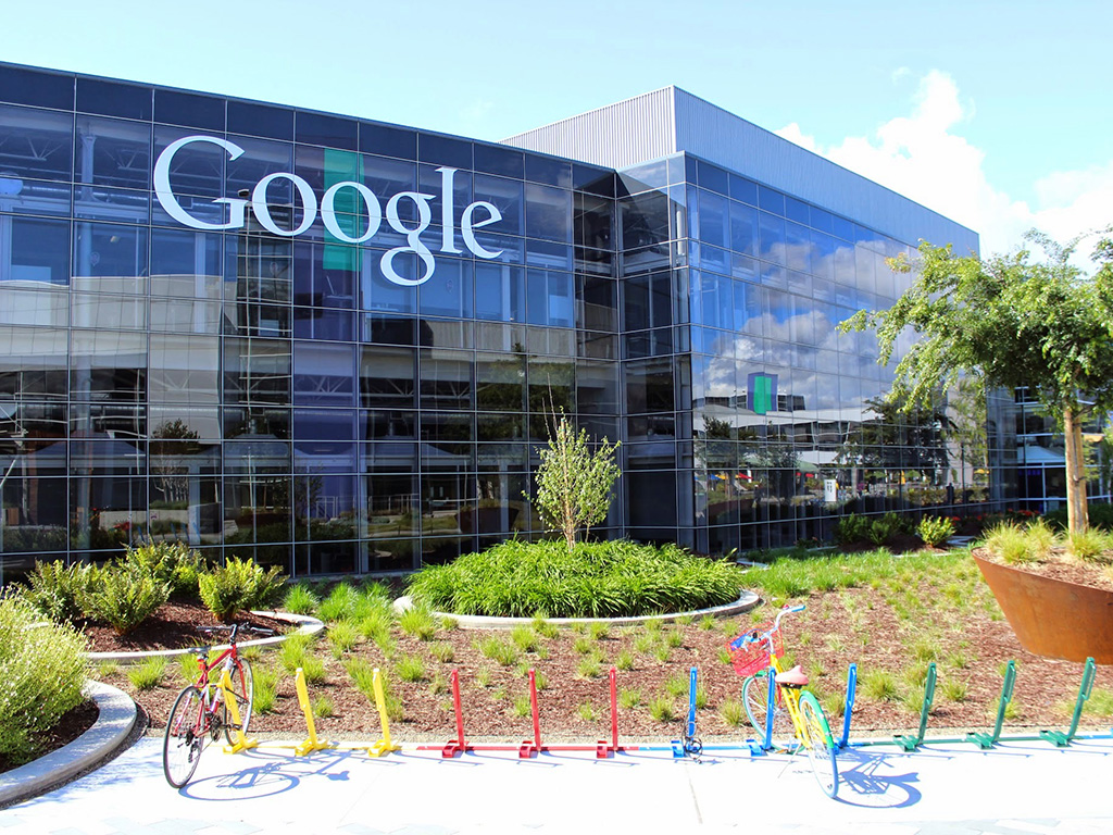 Google Hauptsitz in Mountain View. (Bild: Google)
