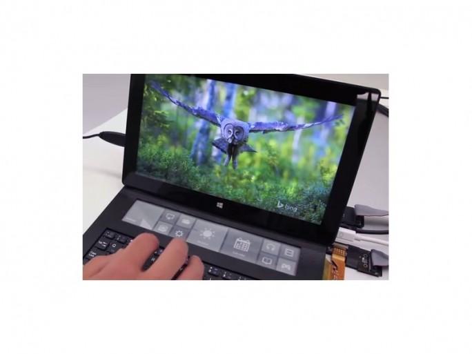 microsoft-e-ink-surface-tastatur (Screenshot: ZDNet bei Youtube)