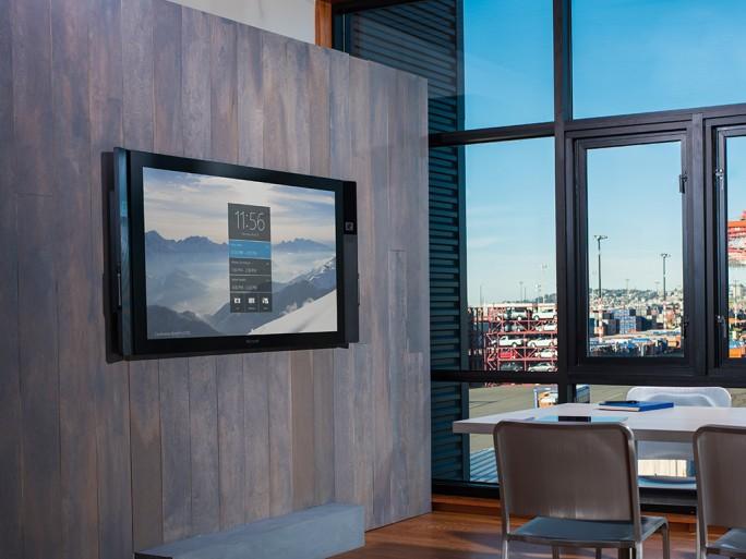 Microsofts Surface Hub (Bild: Microsoft)