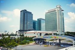 Die Digital City bildet das Hauptquartier von Samsung in Suwon in Südkorea. (Bild: Samsung)