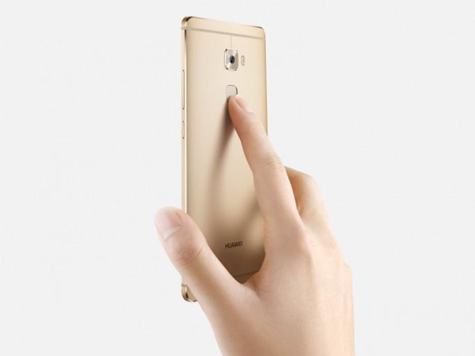 Huawei-Mate-S-Fingerabdruck (Bild: Huawei)