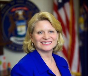 Staatssekretärin Ruth Johnson führt für den Bundesstaat Michigan eine Klage gegen HP. (Bild: Michigan)