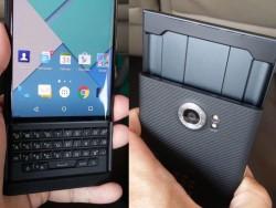 Das Blackberry Priv kommt mit ausziehbarer Volltastatur und Android als Betriebssystem (Bild via Tinhte.vn)