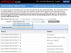 Download der neuen Stndard Edition 2 der Oracle Database. (Bild: Oracle)