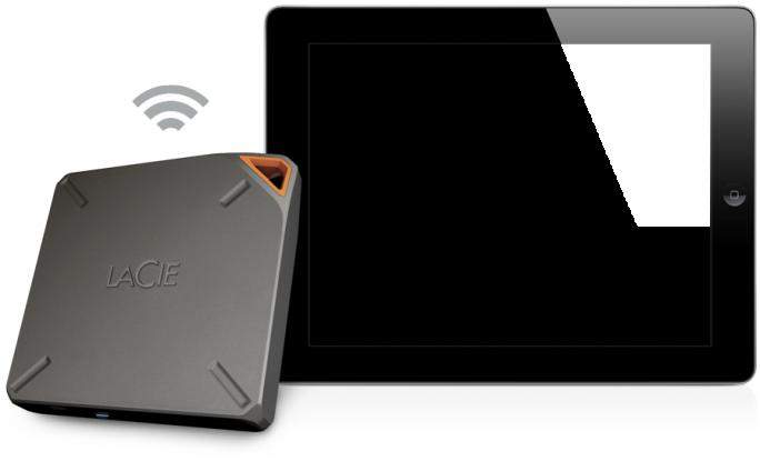 Seagates kabellose Festplatte LaCIE FUEL leidet an einem Sicherheitsleck. (Bild: Seagate)