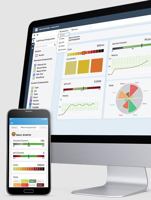 Schnelle und intuitive Entwicklung von Unternehmens-Apps will Salesforce.com mit dem neuen integrierten Angebot der App Cloud ermöglichen. (Bild: Salesforce.com)