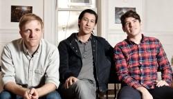 Die Kickstarter-Gründer (v.l.n.r): Charles Adler, Perry Chen und Yancey Strickler (Bild: Jon Vachon/Kickstarter)