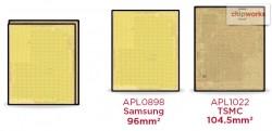 Chipworks: TSMC und Samsung fertigen die CPUs für die iPhone-6S-Modelle (Bild: Chipworks