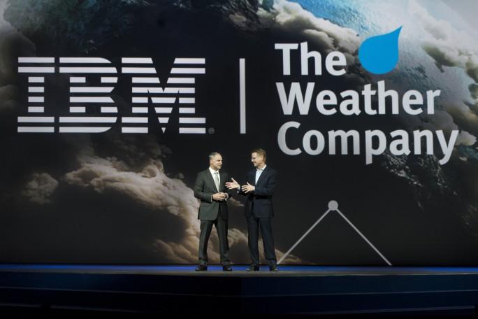 """IBM kauft nicht nur Unternehmen wie """"the Weather Company zu, sondern entlässt auch im größeren Umfang Mitarbeiter in traditionellen Segmenten. (Bild: IBM)"""