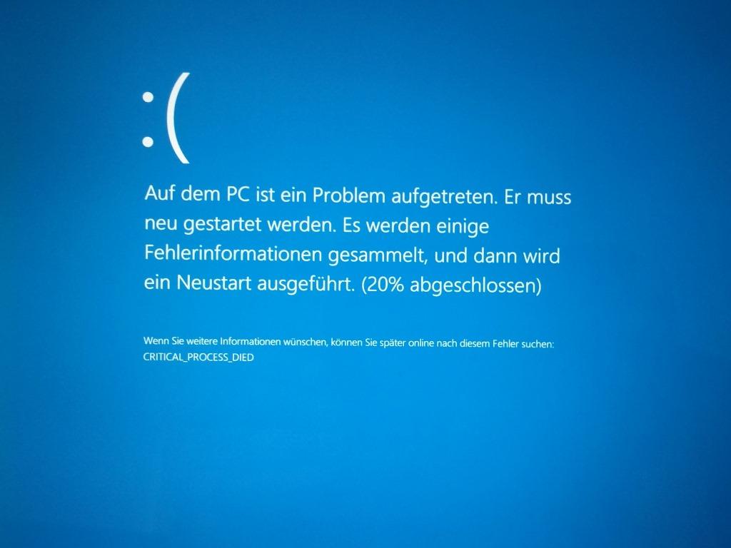 Windows-10-Bluescreen