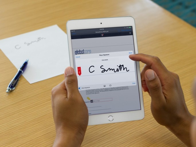 Adobe Signature Capture (Bild: Adobe)