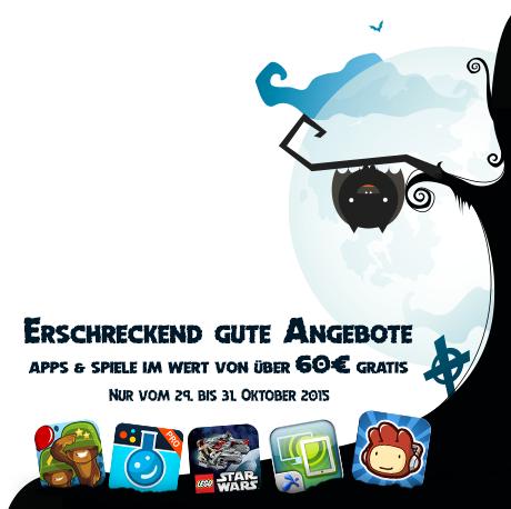 """Amazons Promo Aktion zu Halloween: """"Erschreckend gute Angebote"""". (Bild: Amazon)"""