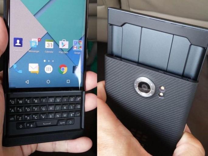 Das Blackberry Priv kommt ab Werk mit Android 5.1.1 als Betriebssystem (Bild via Tinhte.vn).