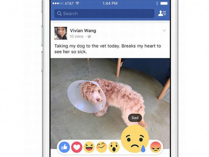 Facebook soll mit dem Test von neuen Gefühlsbekundungen starten. (Bild: Facebook)