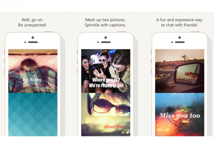 Microsoft Garage stellt mit Twist eine iOS-App für Foto-Chats vor. (Bild: Microsoft)