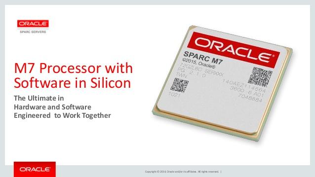 Die Oracle-Datebank 12 c ist die erste, die von dem Feature 'SQL in Silicon' im Sparc M7 Verwendung machen kann. (Bild: Oracle)
