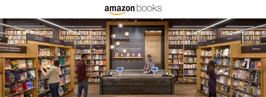 Amazon startet Ladengeschäft in Seattle. (Bild: Amazon Books)