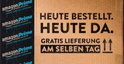 Für Prime-Kunden ist die Lieferung am selben Tag ab 20 Euro Mindestbestellwert kostenlos (Bild: Amazon).