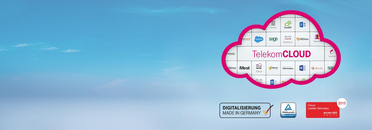 Künftig wird es von der Telekom nur noch ein Cloud-Portal geben. Die Telekom Cloud wird bestehende Marktplätze ablösen. (Bild: Deutsche Telekom)