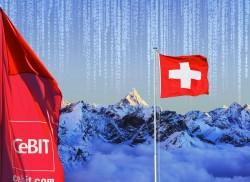 2016 war die Schweiz Partnerland der CeBIT (Bild: Deutsche Messe AG)