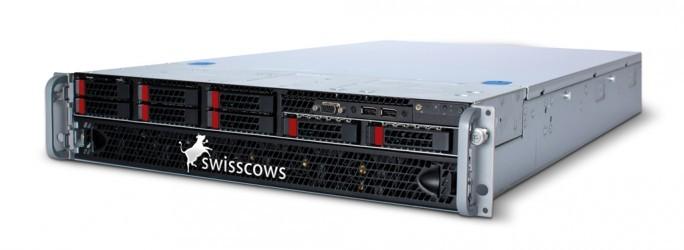 Die Appliances Server L und Server XL der Swisscows Enterprise Search nehmen im Rack zwei Höheneinheiten ein und sind ab 25.00 respektive 50.00 Euro erhältlich (Bild: Hulbee).