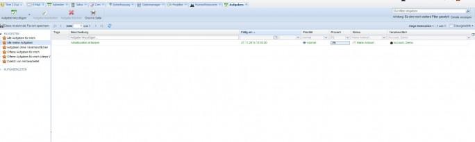 Die Open Source Groupware Tine 2.0. (Screenshot: silicon.de)