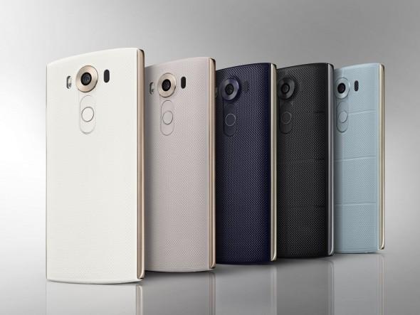 Das Android-Smartphone LG V10 kommt nach Deutschland, aber wohl nicht in allen Farben (Bild: LG).