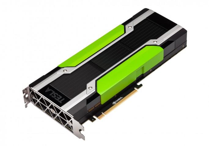 Die GPU Nvidia TeslaM40 ist wichtiger Bestandteil der neuen Hardware, die Facebook für den Einsatz von künstlicher Intelligenz entwickelt hat. Im Rahmen des Open Compute Projektes will Facebook die Architektur offenlegen. (Bild: Nvidia)
