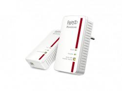 Die Powerline-WLAN-Kombination Fritz Powerline 1240E ist jetzt für 79 Euro als Einzelprodukt respektive 149 Euro im Zweier-Set im Handel (Bild: AVM).