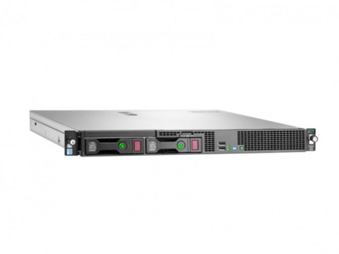 Der HPE ProLiant DL20 Gen9 wird von dem Intel-Server-Chip der Reihe Xeon E3-1200v5 angetrieben. (Bild: HPE)