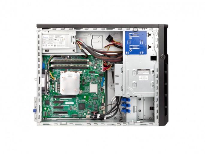 Der Standalone-Server ProLiant ML30 Gen9 soll soll sich gut erweitern lassen. (Bild: HPE)