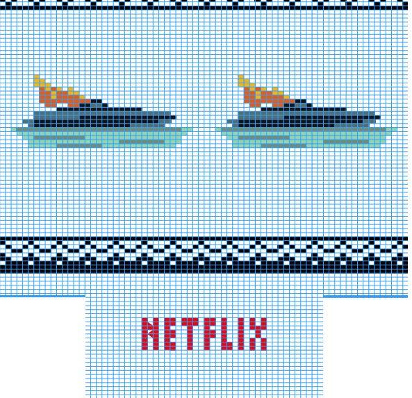 Netflix-Strickmuster für die Serie Bloodline. (Bild: Netflix)
