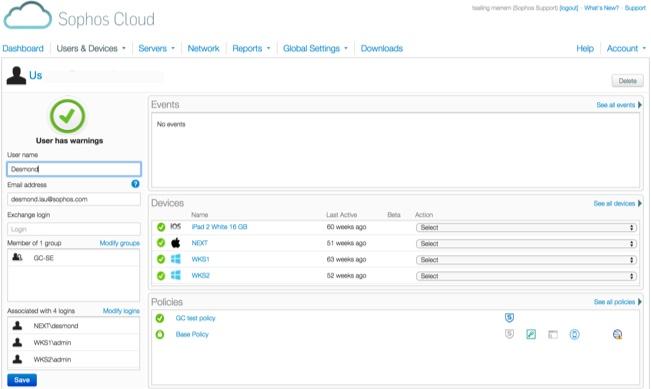 Über ein neues Dashboard in Sophos Cloud können Partner nun auch den Lizenzstatus von Anwendern einsehen. (Bild: Sophos)