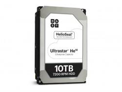 Die Ultrastar He10 bietet 10 TByte Kapazität (Bild: WD).