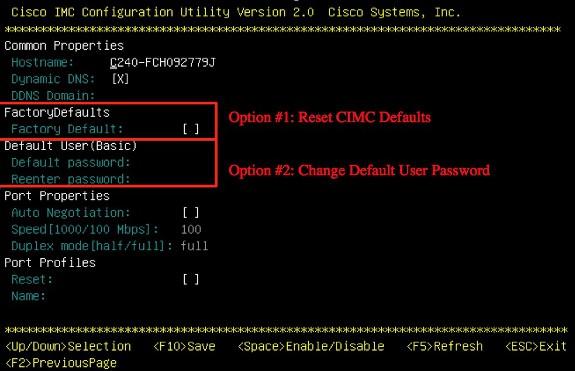 Cisco hat verschiedene C-Series-Modelle der UCS mit einem neuen Passwort versehen und dies nicht dokumentiert. Es helfe aber, ein neues Default-Passwort zu setzen. (Bild: Cisco)