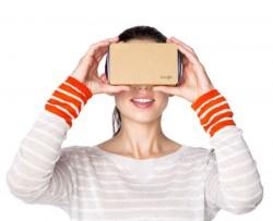 Google war bei Virtual Realoty bisher nur mit der günstigen Lösung Cardboard aktiv. Das könnte sich 2016 ändern (Screenshot: ITespresso).
