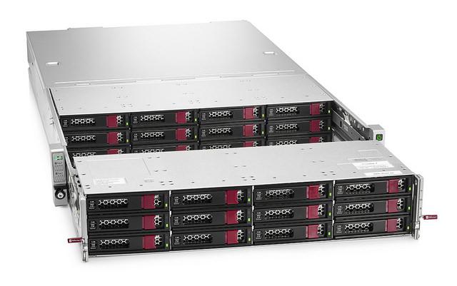 HPE StoreEasy 1650 Expanded Storage ist eine kapazitätsorientierte NAS-Appliance für Massen- und Sekundärdateispeicher. (Bild: HPE)