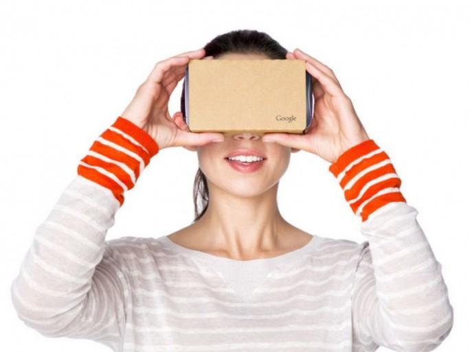 Google war bei Virtual Reality bisher nur mit der günstigen Lösung Cardboard aktiv. Das könnte sich 2016 ändern (Screenshot: ITespresso.de)