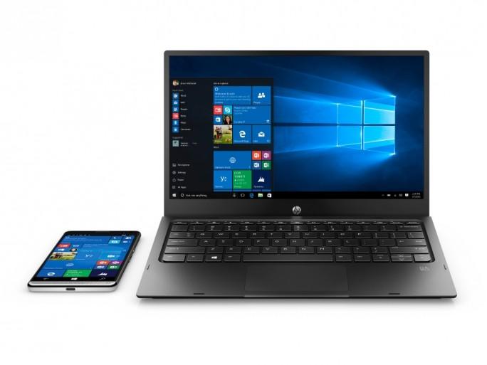Dank Mobile Extender und dem Feature Continuum lassen sich Inhalte des HP Elite X3 auf sämtlichen Bildschirmen nutzen. (Bild: HP)