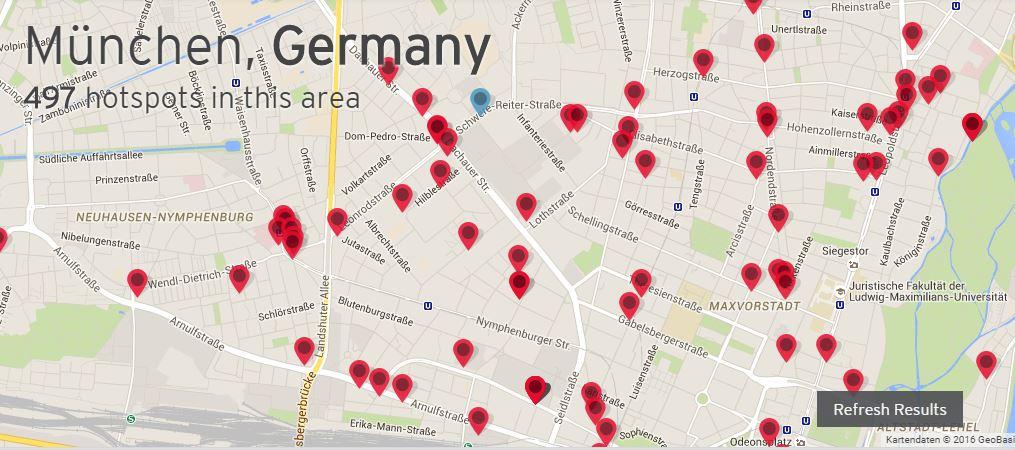 ipass-Hotspots-Munich