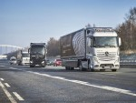 Daimler setzt auf vernetzte LKW