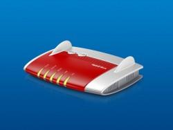 Die Fritzbox 4040 wird äußerlich kaum von der hier abgebildeten Fritzbox 4020 zu unterscheiden sein, bringt aber für den 30 Euro höheren Preis einen USB-3.0-Port und bessere WLAN-Technik mit (Bild: AVM).