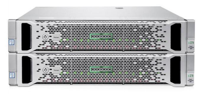 Die Appliance HPE Hyperconverged 380 kann von zwei bis 16 Knoten skaliern. (Bild: HPE)