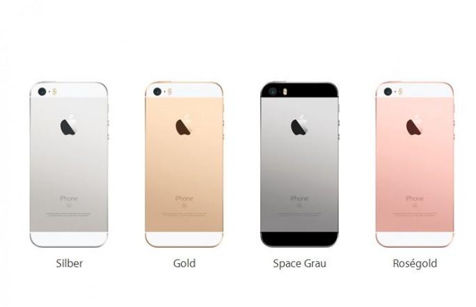 Rein äußerlich die auffälligsten Änderungen wagt Apple bei den Gehäusefarben (Screenshot: silicon.de)
