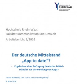 Studie App to Date (Screenshot: Silicon.de)