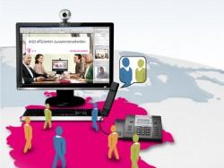 Telefon- und Webkonferenzen gibt es bei der Telekom zu monatlichen Festpreisen (Bild: Deutsche Telekom).